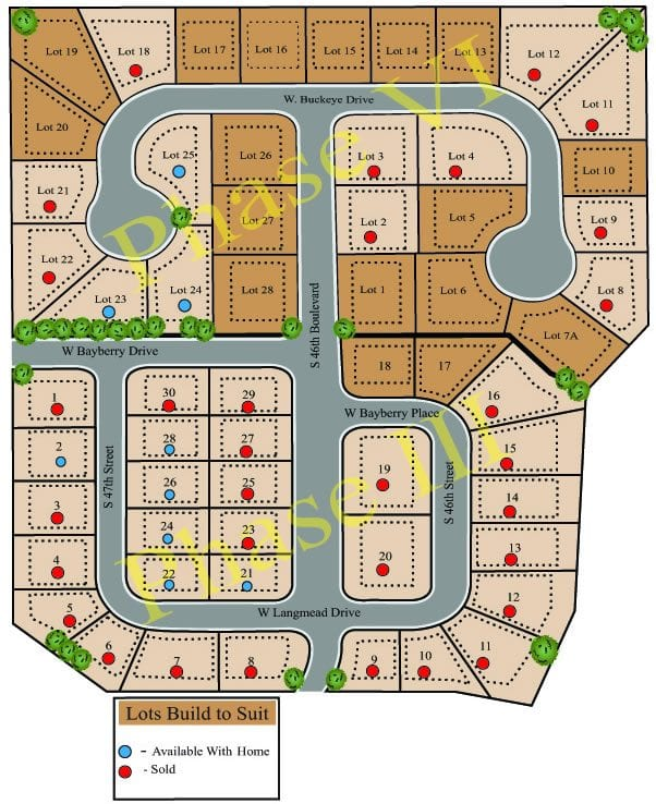 Rolling acres Phase